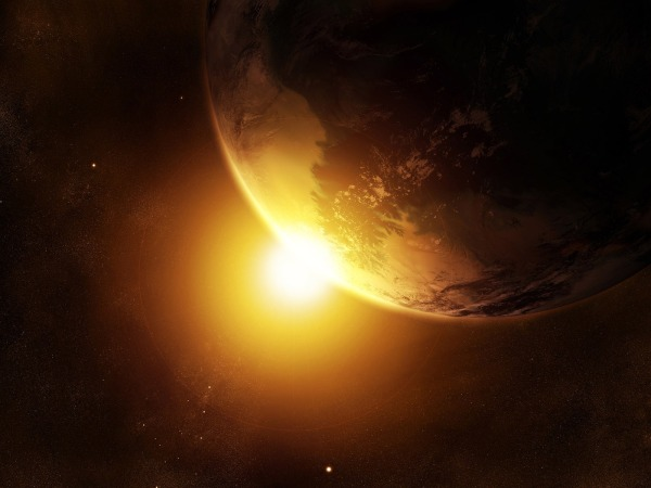 Earth and Sunrise
