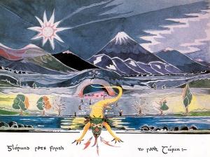 Figure 7: Tolkien – Glorund