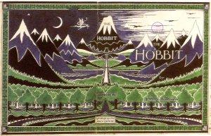 Figure 18: Tolkien – Original Cover of The Hobbit