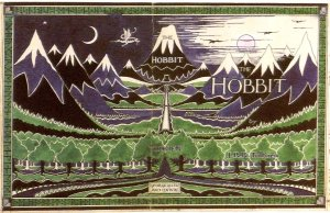 Figure 18: Tolkien – Original Cover of The Hobbit