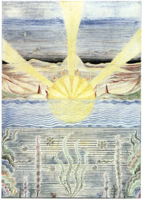 Figure 16: Tolkien – Mandalic Scene
