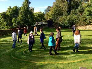 Conference Labyrinth – Photo by Becca Tarnas