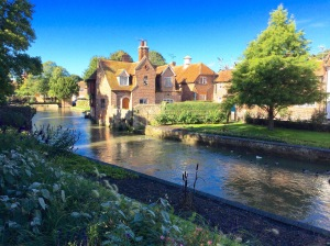 The River Stroud and the Westgate Gardens – Photo by Becca Tarnas