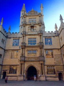 The Bodleian Library – Photo by Becca Tarnas