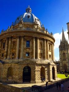 Radcliffe Camera & University Church – Photo by Becca Tarnas