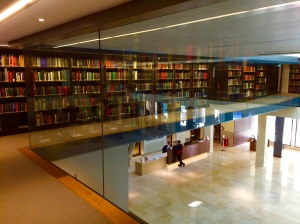 The Reference Library in the Weston – Photo by Becca Tarnas