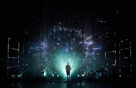 SIgur Rós 2016 World Tour rehearsals with Bruno Poet and Matt Daw