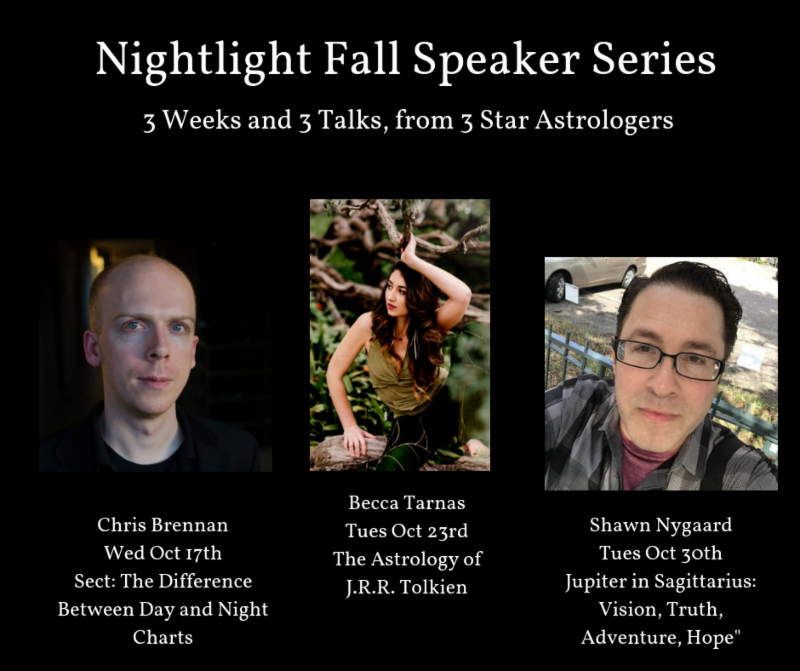 NIghtlight Fall Speaker Series