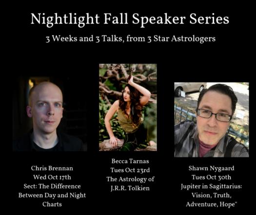 NIghtlight Fall Speaker Series